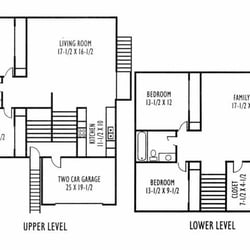 Parkview townhomes apartments 1329 n williamsburg for Parkview homes floor plans