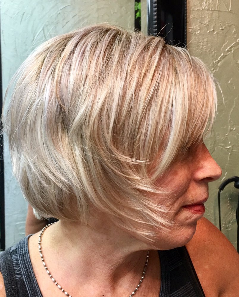 Icy Blond And Texture Haircut By Parvin Yelp
