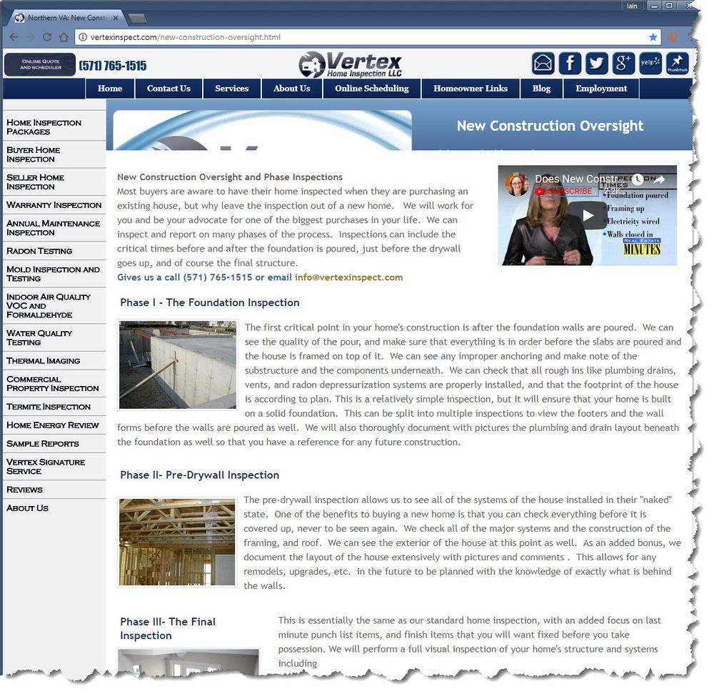 Vertex Home Inspection
