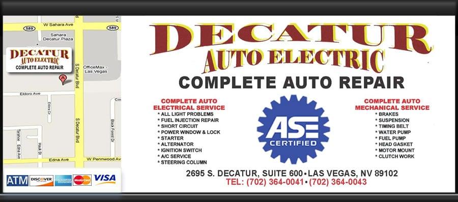 decatur auto electric 37 photos 19 reviews auto repair 2695 rh yelp com Las Vegas Auto Sales Las Vegas Auto Museum