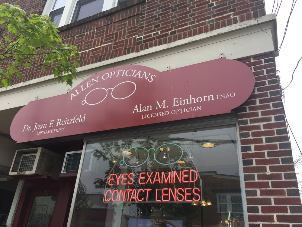 Allen Opticians: 10 E Central Ave, Pearl River, NY