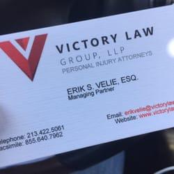 erik  velie victory law group  reviews employment law  rosecrans ave el segundo