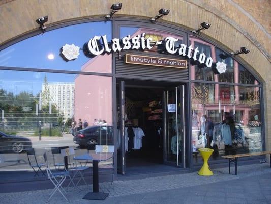 Classic Tattoo Berlin: Classic Tattoo Store