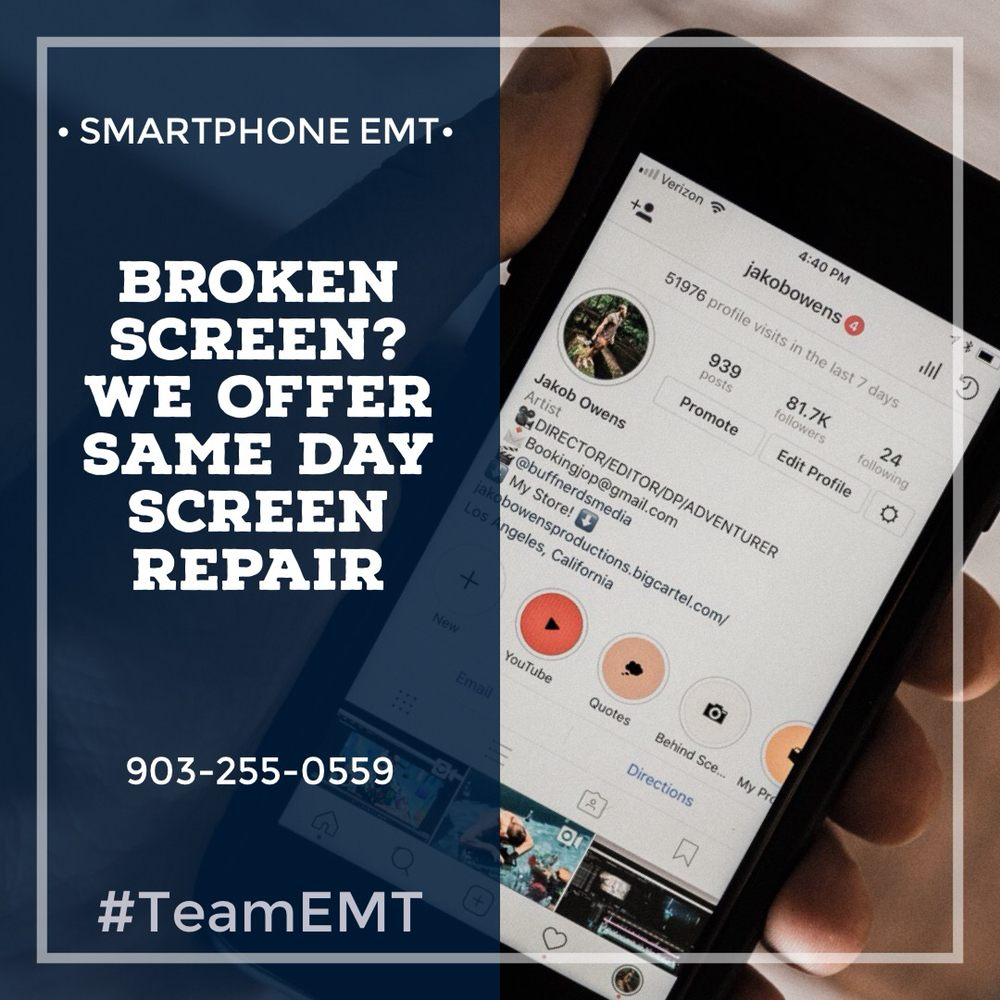 Smartphone EMT: 3408 Richmond Rd, Texarkana, TX