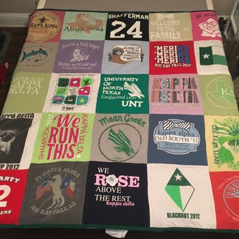 Texas T-Shirt Quilts - Sewing & Alterations - 4341 Lindbergh Dr ... : pictures of tshirt quilts - Adamdwight.com