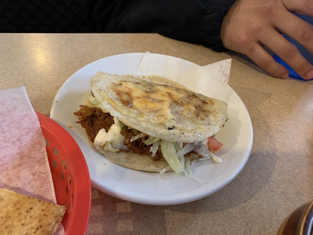 Food from Dos Amigos Taqueria