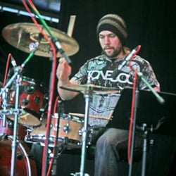 photo of matt cope professional drummer drum teacher saint neots cambridgeshire
