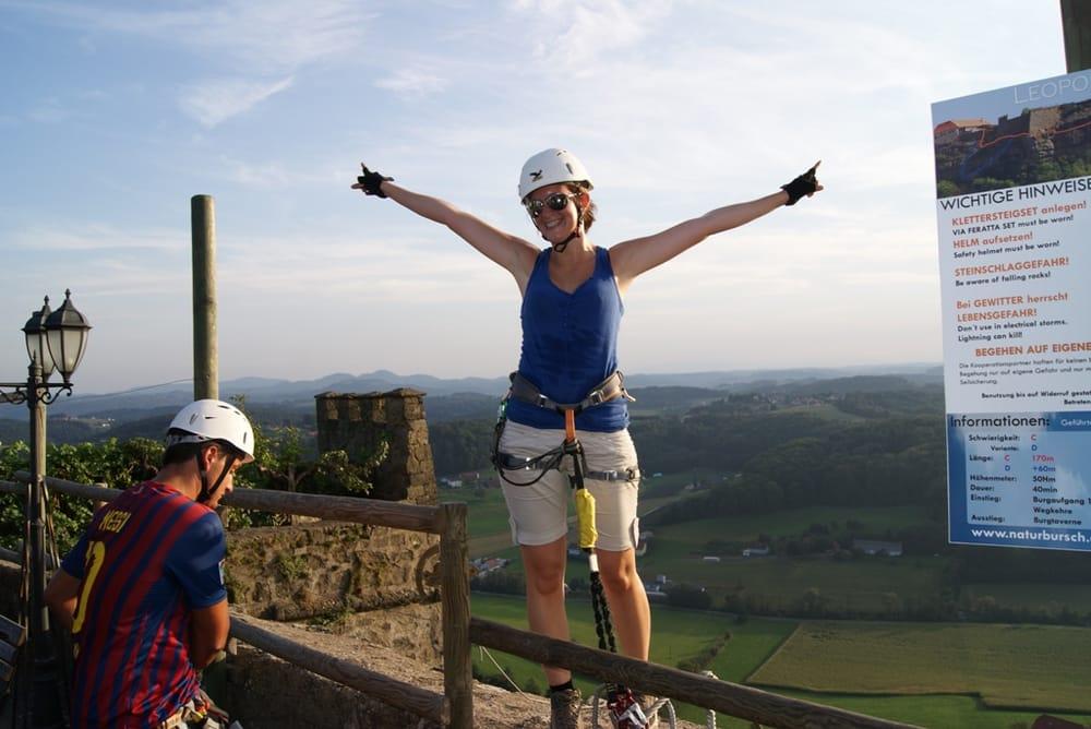 Klettersteig Riegersburg : Leopold klettersteig riegersburg yelp