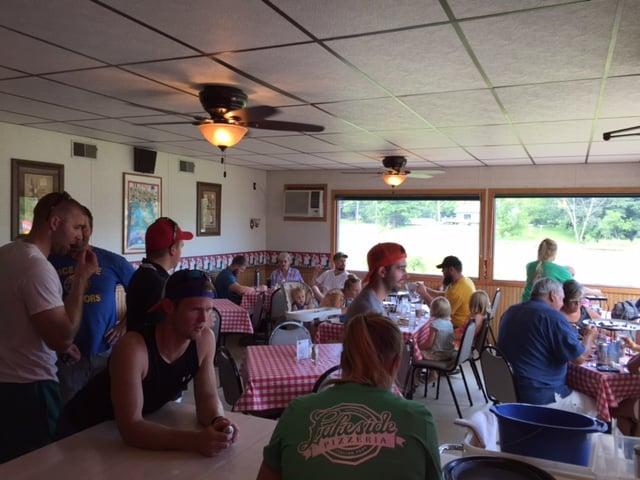 Lakeside Restaurant: 1780 Arcade Ave, Cumberland, WI