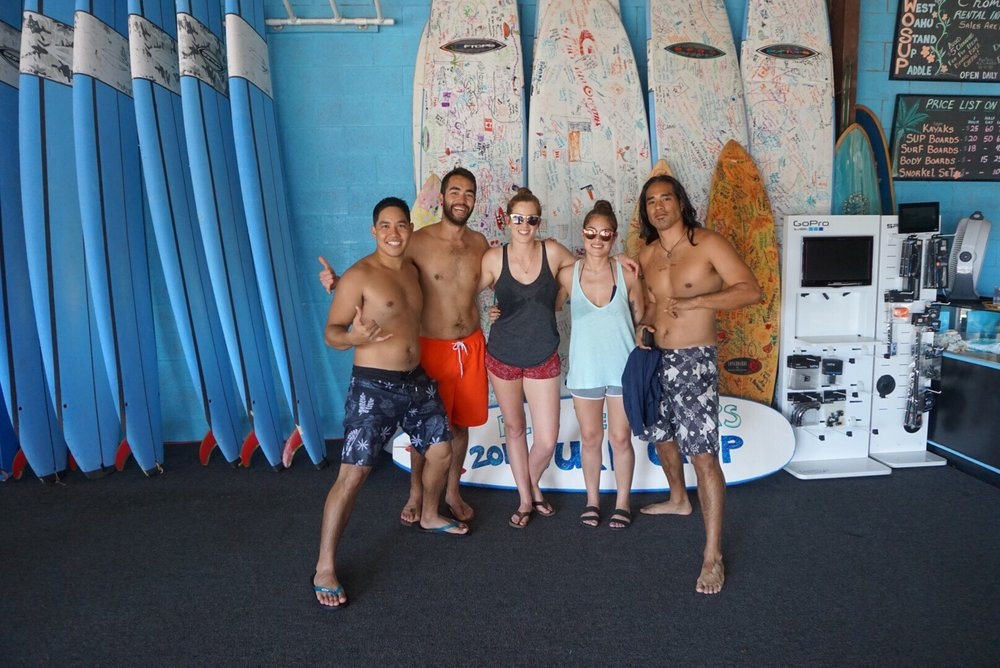 West Oahu SUP & Surf