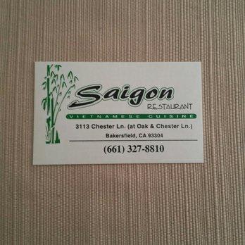 Saigon restaurant 117 photos 129 reviews vietnamese for Business cards bakersfield