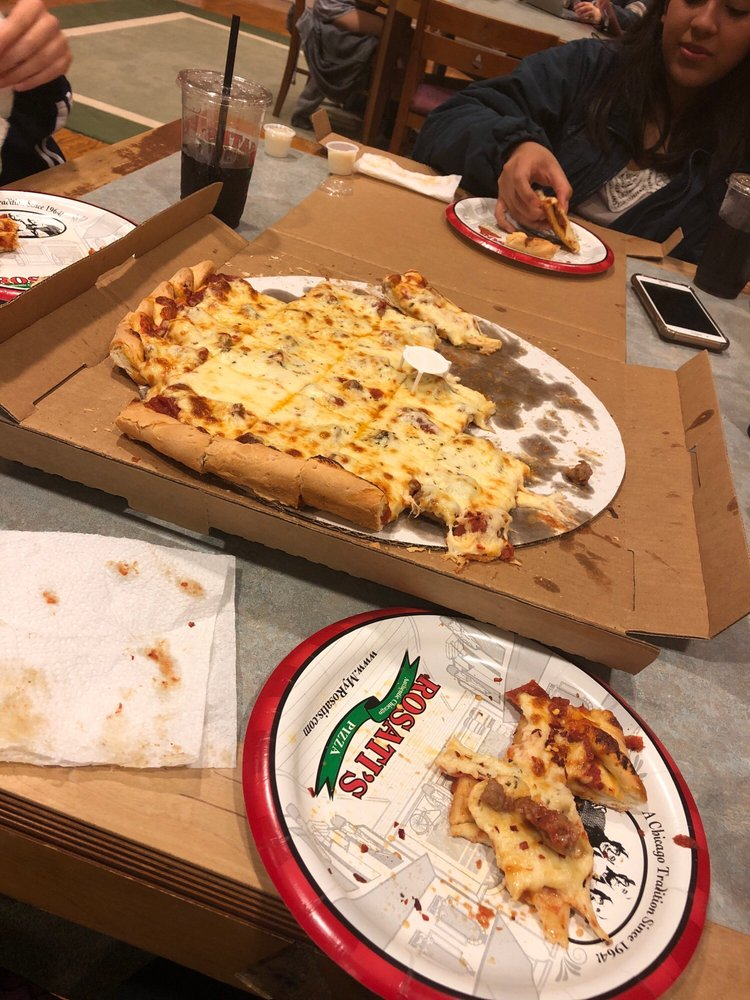Rosati's Pizza: 701 S Gregory St, Urbana, IL