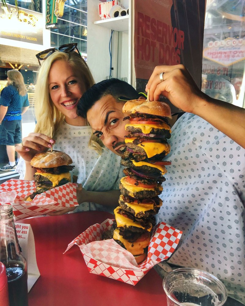 Octuple bypass burger