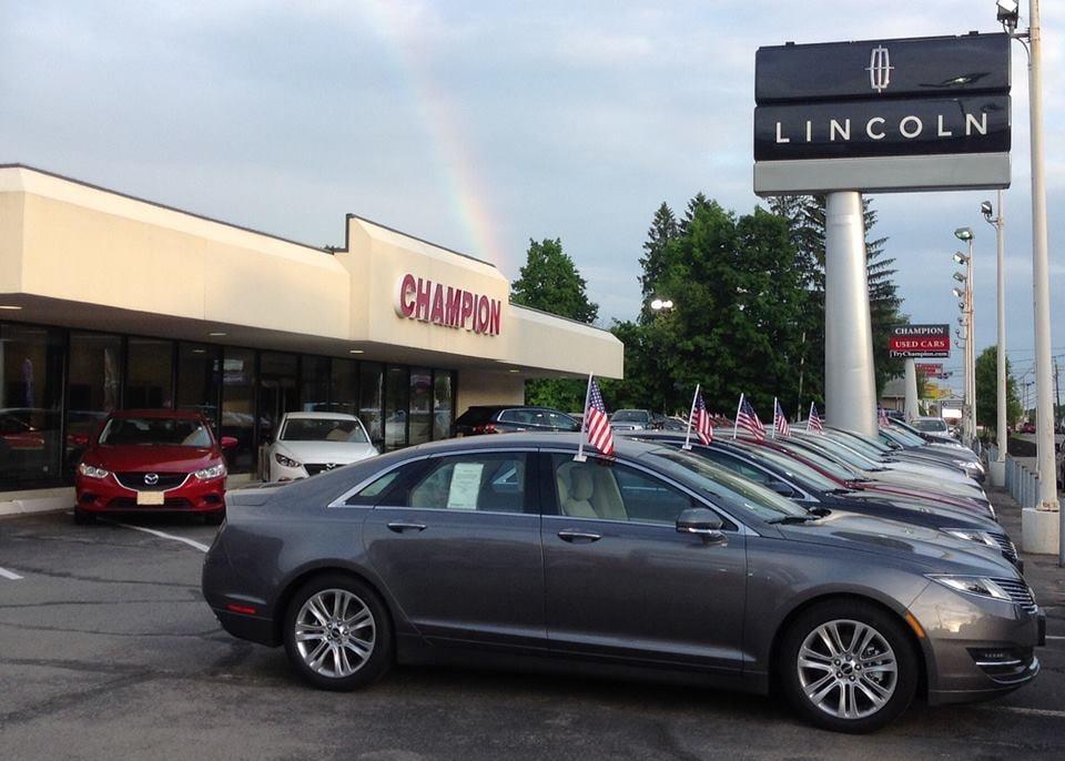 Champion Lincoln Mercury Mazda Autoliikkeet 1724 Main