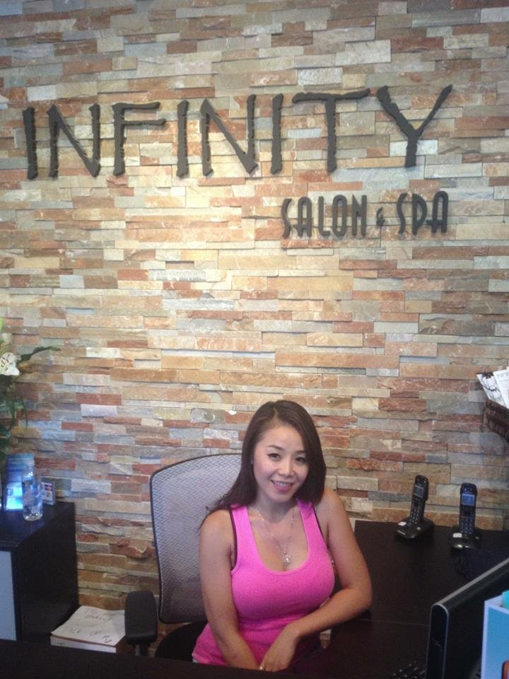 Infinity salon spa hair salons granville island for A p beauty salon vancouver wa
