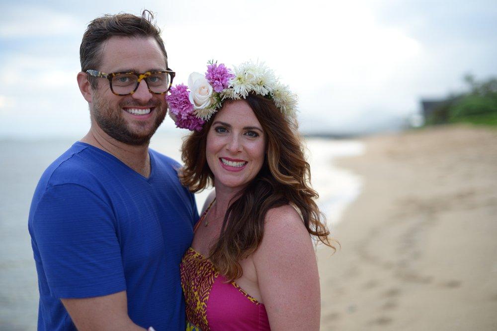 Beach Wedding Ceremony Oahu: Kauai Wedding Hair And Makeup By Meghan Daul