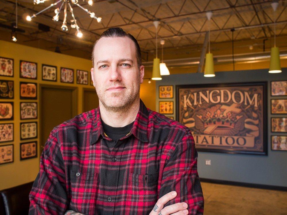 Kingdom tattoo 53 photos 11 reviews tattoo 627 b e for Charlie cu tattoo