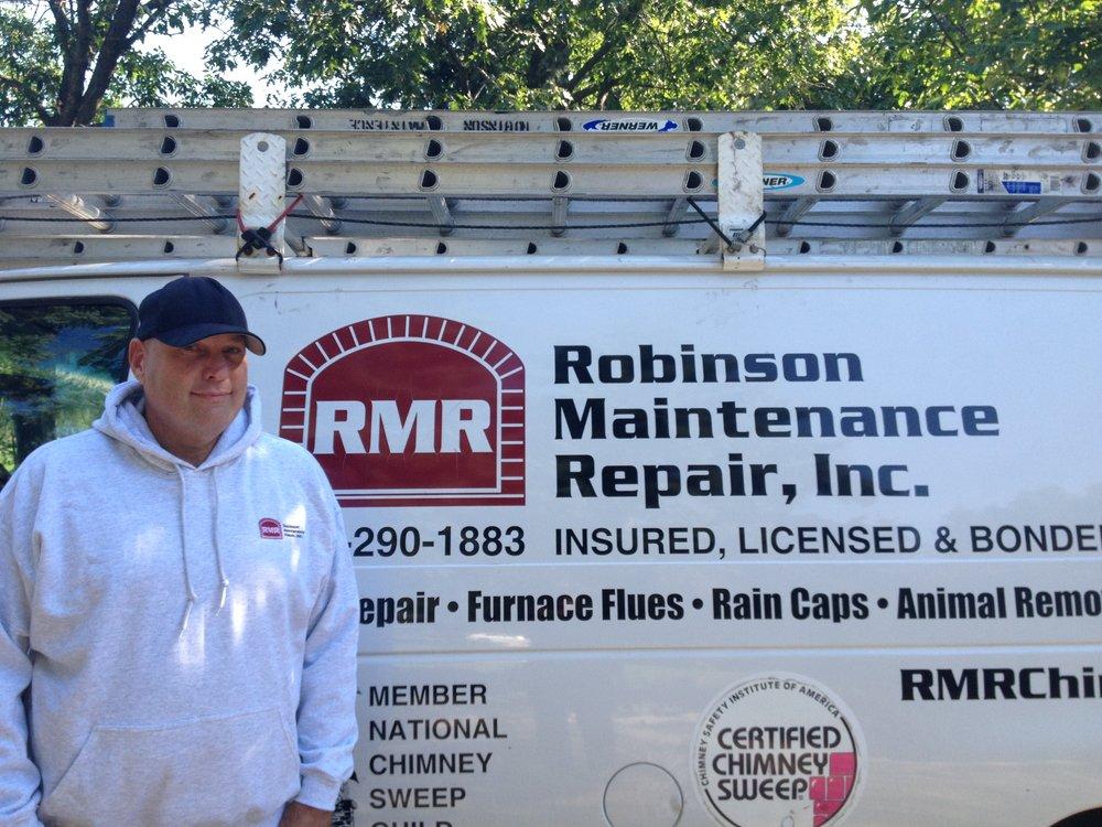 Robinson maintenance & repair chimney sweeps 919 national ave