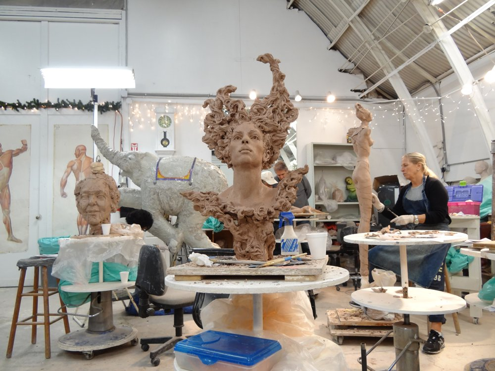 Teale street sculpture studio check availability