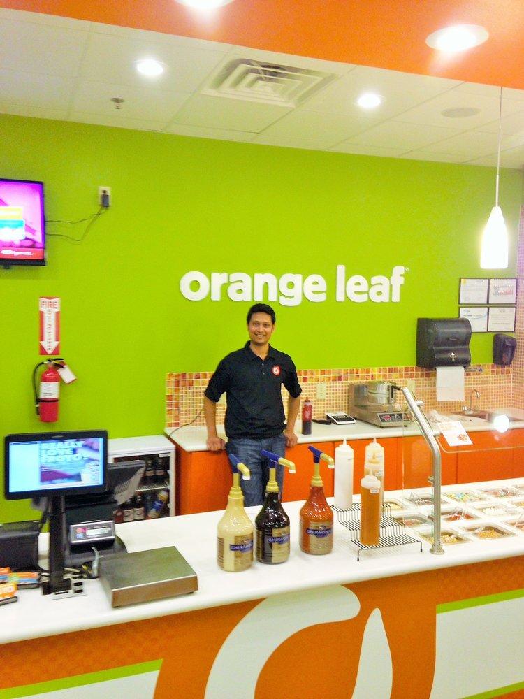 Orange leaf frozen yogurt closed 25 photos 30 for Amber leaf