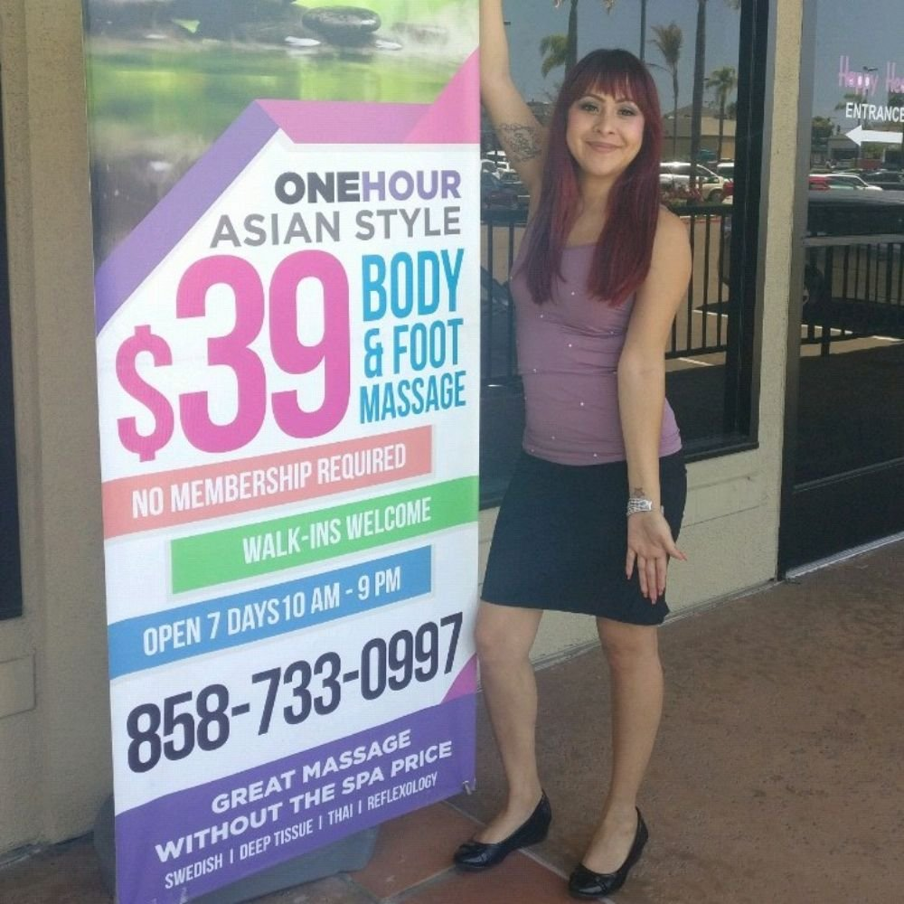 Asian massage parlors in the 858