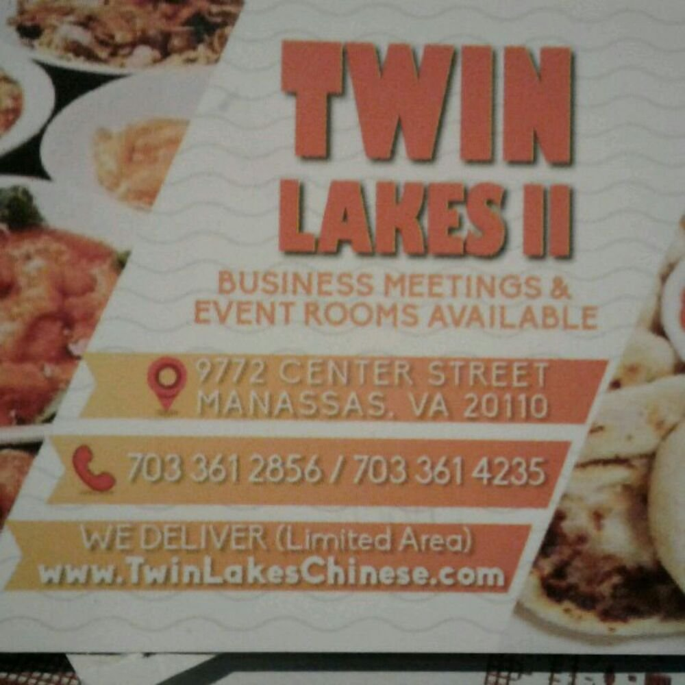 Twin Lakes Restaurant Manassas