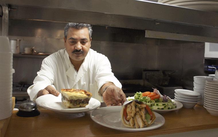 Kalamaki greek grill 59 photos 17 reviews greek for Achillion greek cuisine prince george bc