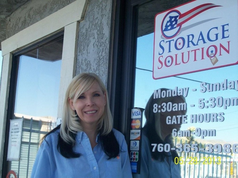 Beau Comment From Pam D. Of Storage Solution Yucca Valley Business Owner