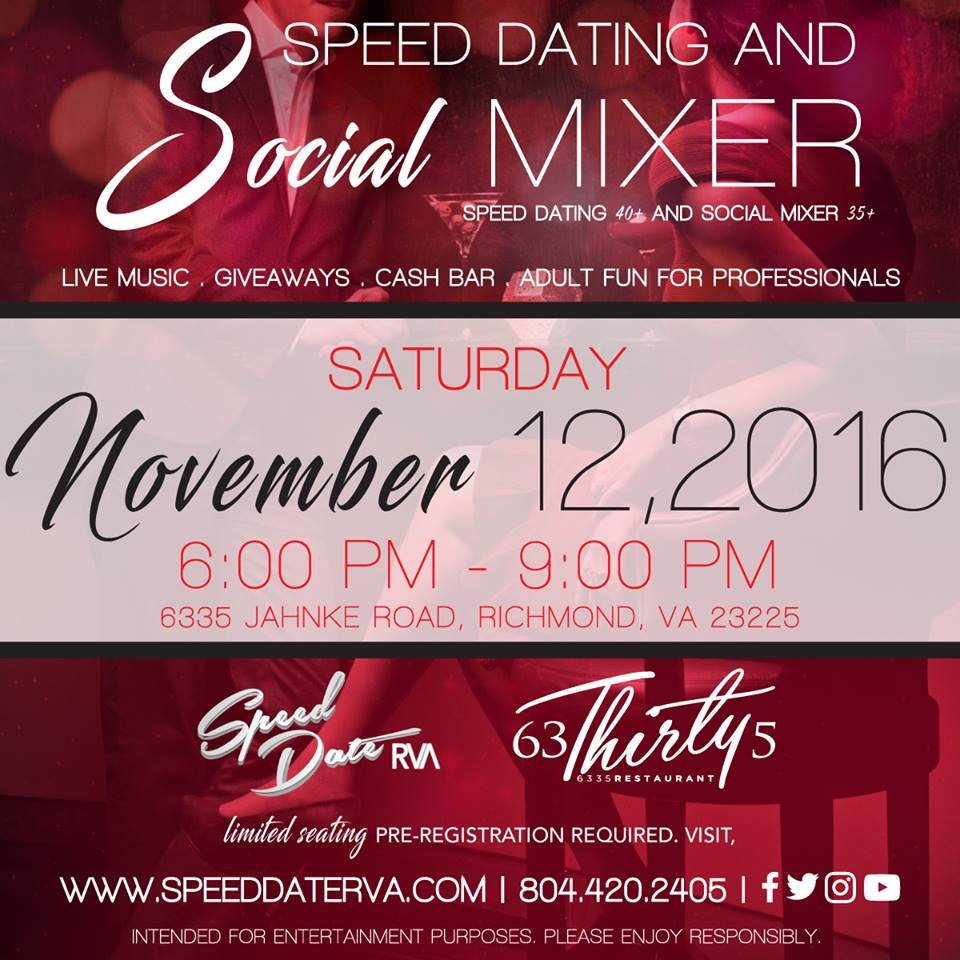 Speed dating in richmond virginia