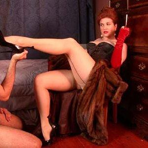 Art domination female spanking