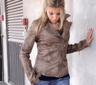 Italian Leather Jacket Women - Jacket