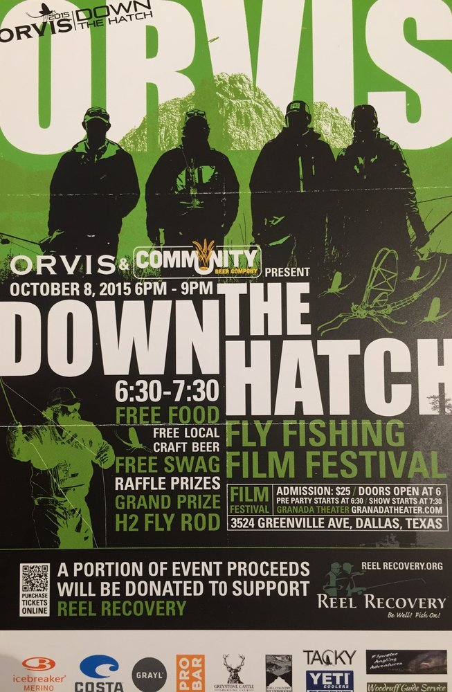 Down the hatch fly fishing film festival orvis 2015 for Fly fishing film festival