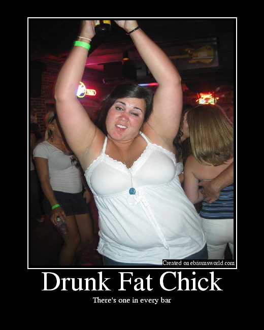 Sexy drunk chick