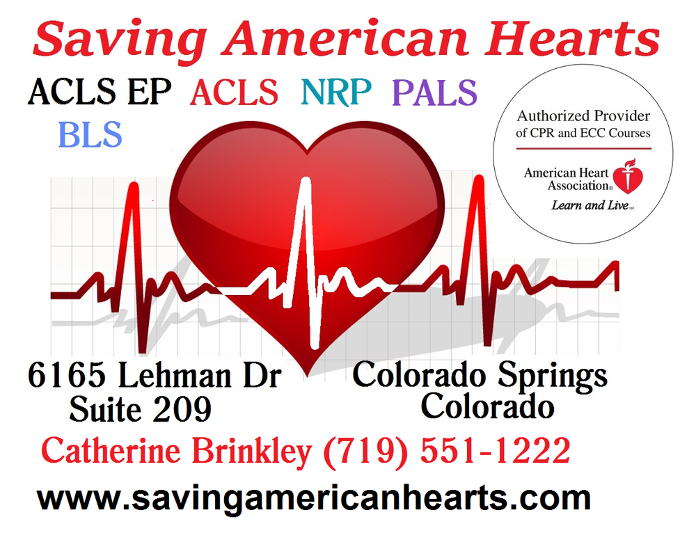 Aha Acls 1 Day Initial Cert April 2 2015 Colorado Springs Colorado
